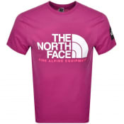 Product Image for The North Face Fine Alpine T Shirt Purple