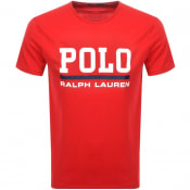 Product Image for Ralph Lauren Crew Neck T Shirt Red