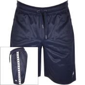Product Image for Money Taped Logo Shorts Navy