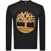 Product Image for Timberland Crew Neck Logo Sweatshirt Black
