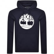 Product Image for Timberland Logo Hoodie Navy