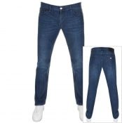 Product Image for Armani Exchange J16 Straight Fit Jeans Blue