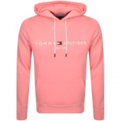 Product Image for Tommy Hilfiger Logo Hoodie Pink