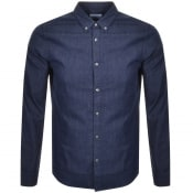 Product Image for Superdry Long Sleeved Shirt Navy