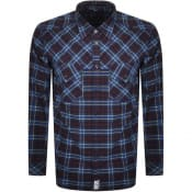 Product Image for Diesel S Tolstoj Check Shirt Blue