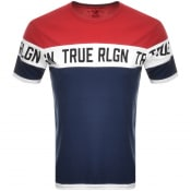 Product Image for True Religion Colour Block Logo T Shirt Blue