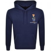 Product Image for Ralph Lauren Polo Bear Pullover Hoodie Navy
