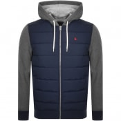 Product Image for Jack Wills Burston Full Zip Hoodie Navy