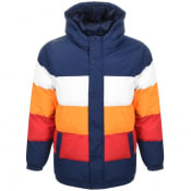 Product Image for Fila Vintage Giovanni Puffer Jacket Navy