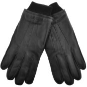 Product Image for Gant Leather Gloves Black