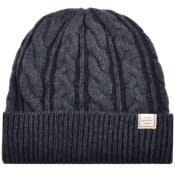 Product Image for Gant Winter Faded Beanie Hat Navy