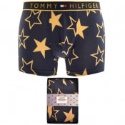 Product Image for Tommy Hilfiger Golden Stars Logo Trunks Navy