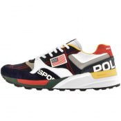 Product Image for Ralph Lauren Track Star 100 Trainers White