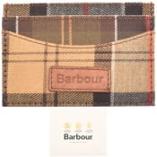 Product Image for Barbour Mixed Tartan Card Holder Brown