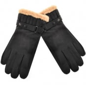 Product Image for Barbour Leather Utility Gloves Black