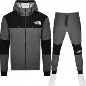 Product Image for The North Face Himalayan Full Zip Tracksuit Grey