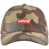 Product Image for Levis Batwing Logo Baseball Cap Green