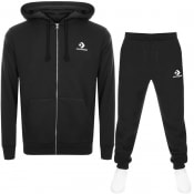 Product Image for Converse Star Chevron Logo Tracksuit Black