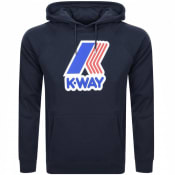 Product Image for K Way Loki Logo Hoodie Navy