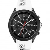 Product Image for BOSS HUGO BOSS 1513718 Velocity Watch White