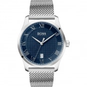 Product Image for BOSS HUGO BOSS 1513737 Master Watch Silver
