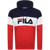 Product Image for Fila Vintage Rayton Colour Block Hoodie Navy