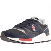Product Image for Ralph Lauren Track Star Suede Trainers Navy
