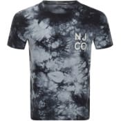 Product Image for Nudie Jeans Roy Tie Dye T Shirt Grey