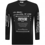 Product Image for Versace Jeans Couture Long Sleeved T Shirt Black