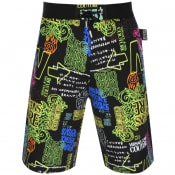 Product Image for Versace Jeans Couture Logo Shorts Black