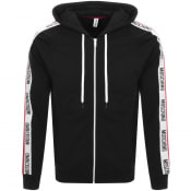 Product Image for Moschino Full Zip Logo Hoodie Black