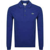 Product Image for Lacoste Sport Long Sleeved Polo T Shirt Blue