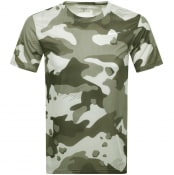 Product Image for Nike Training Crew Neck Camo T Shirt Green