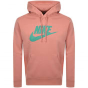 Product Image for Nike Swoosh Logo Hoodie Pink