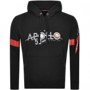 Product Image for Alpha Industries Apollo 50 Reflective Hoodie Black