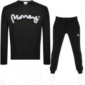 Product Image for Money Sig Ape Crew Neck Tracksuit Black