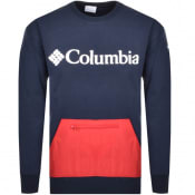 Product Image for Columbia Fremount Crew Neck Sweatshirt Navy