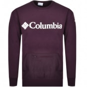 Product Image for Columbia Fremount Crew Neck Sweatshirt Purple