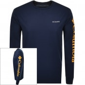 Product Image for Columbia Long Sleeved North Cascades T Shirt Navy