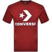 Product Image for Converse Star Chevron Logo T Shirt Red