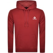 Product Image for Converse Star Chevron Logo Hoodie Red