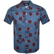 Product Image for PS By Paul Smith Short Sleeved Casual Shirt Blue