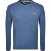 Product Image for Tommy Jeans Crew Neck Knit Jumper Blue