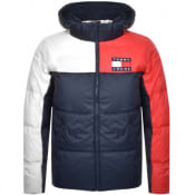 Product Image for Tommy Jeans Colour Block Jacket Navy