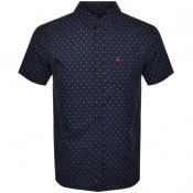Product Image for Jack Wills Bondby Short Sleeved Shirt Navy