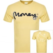 Product Image for Money Crew Neck Pastel Sig Ape T Shirt Yellow