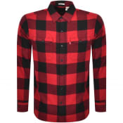 Product Image for Levis Long Sleeved Jackson Worker Shirt Red