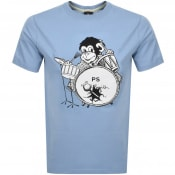 Product Image for PS By Paul Smith Monkey T Shirt Blue