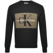 Product Image for Calvin Klein Jeans Monogram Sweatshirt Black