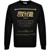 Product Image for Versace Jeans Couture Logo Sweatshirt Black